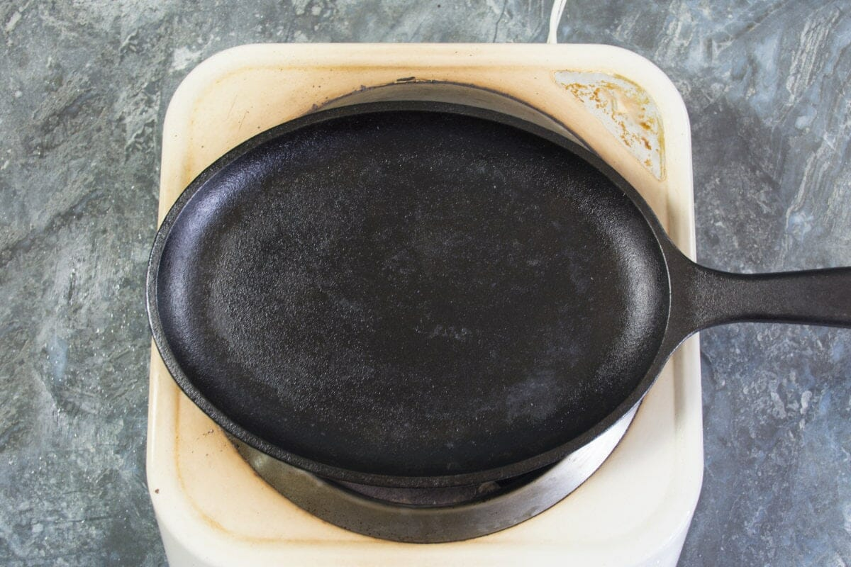 Step 10 Heat Up Sizzling Plate