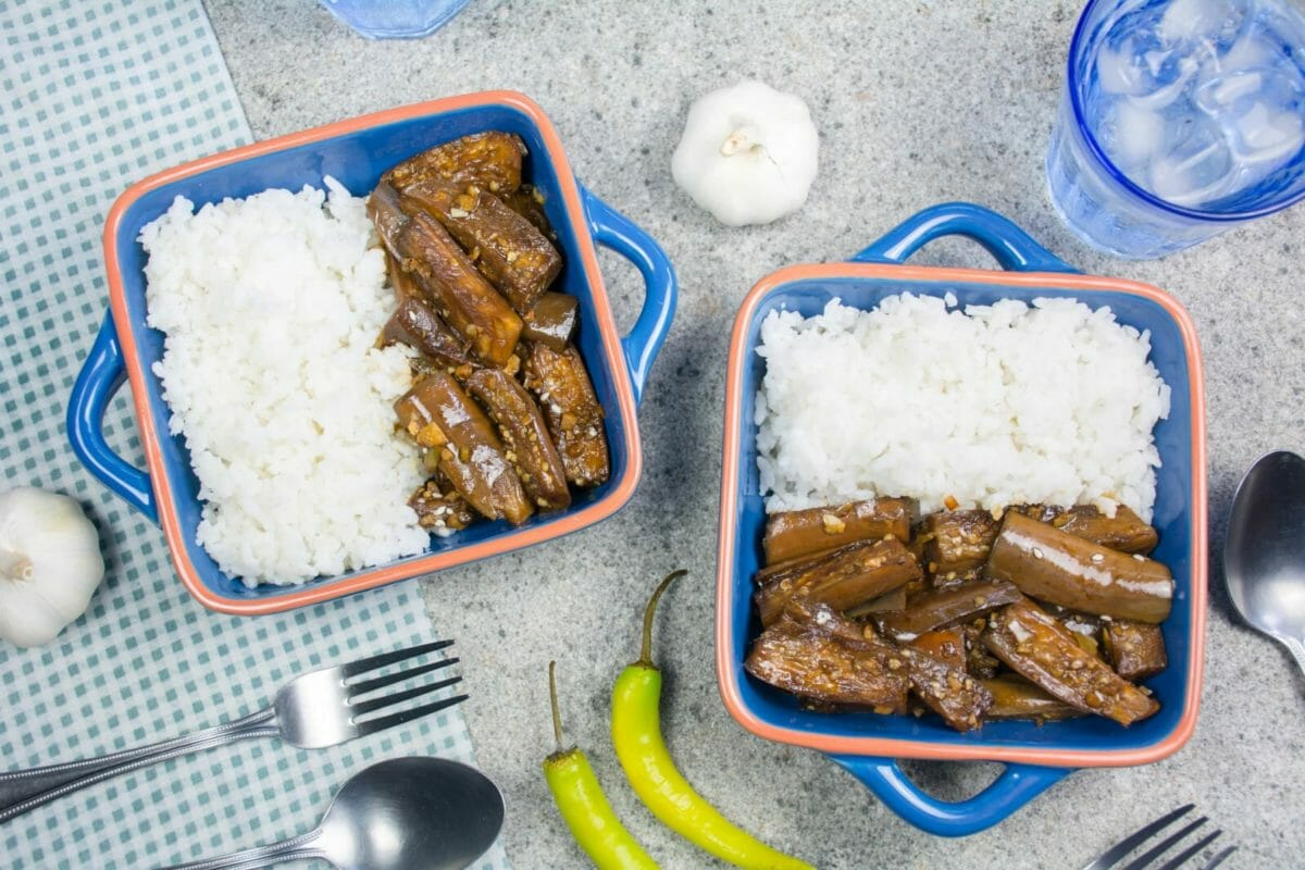 Filipino Eggplant Adobo Recipe Main Course