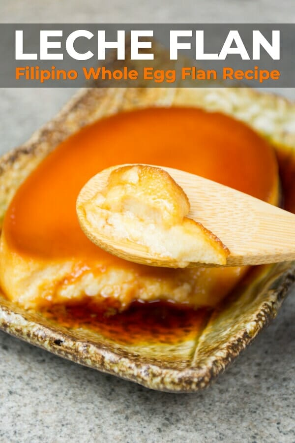 Filipino Whole Egg Leche Flan Recipe