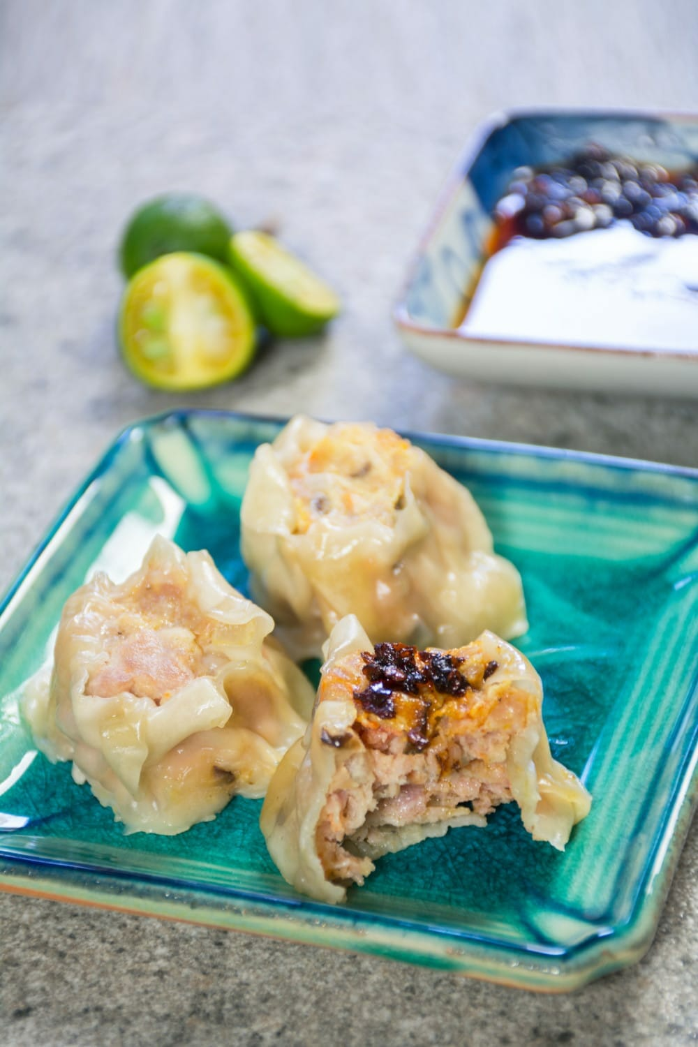 Pork Siomai Asian Wonton