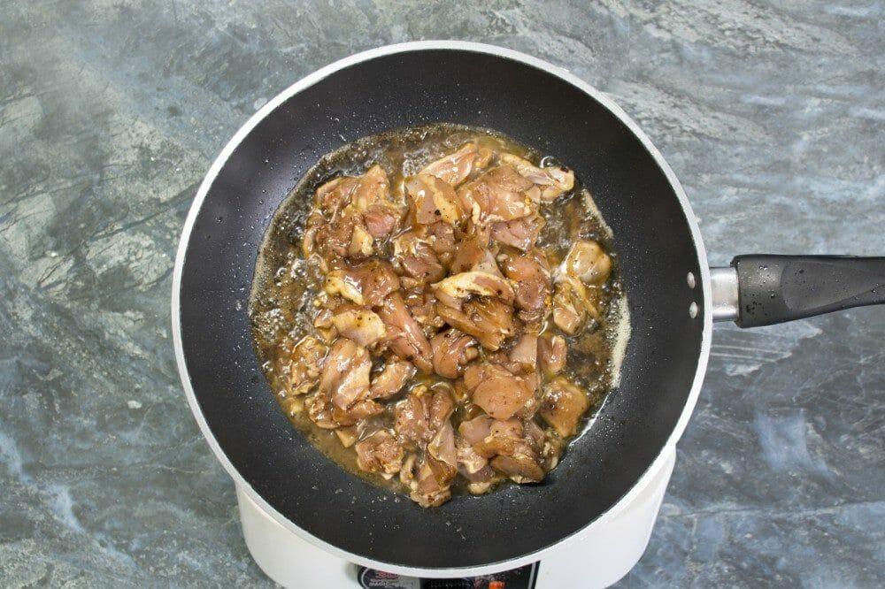 Step 5 Add Marinated Chicken