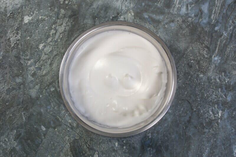 Step 6 Shiny Egg Yolk Meringue Mix