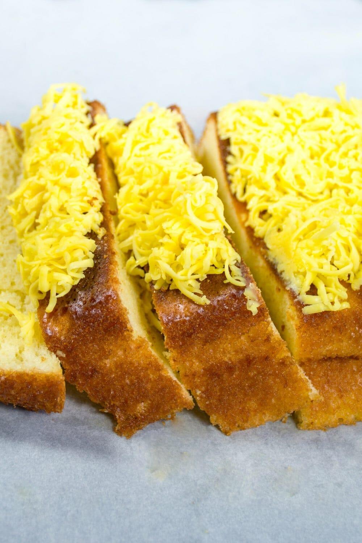 Taisan Filipino Loaf Pan Cake With Cheese