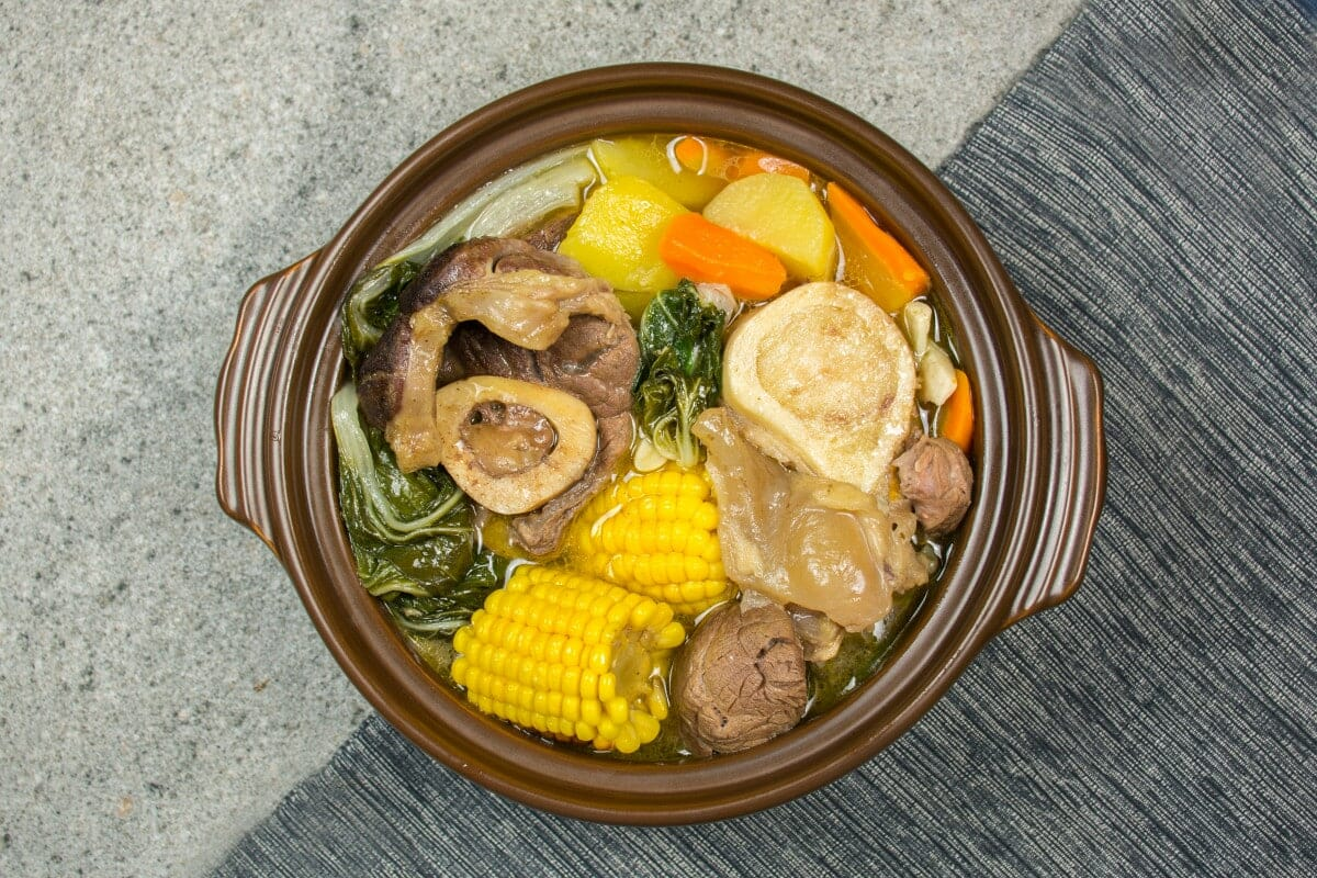 Bulalo Dish From The Philippines