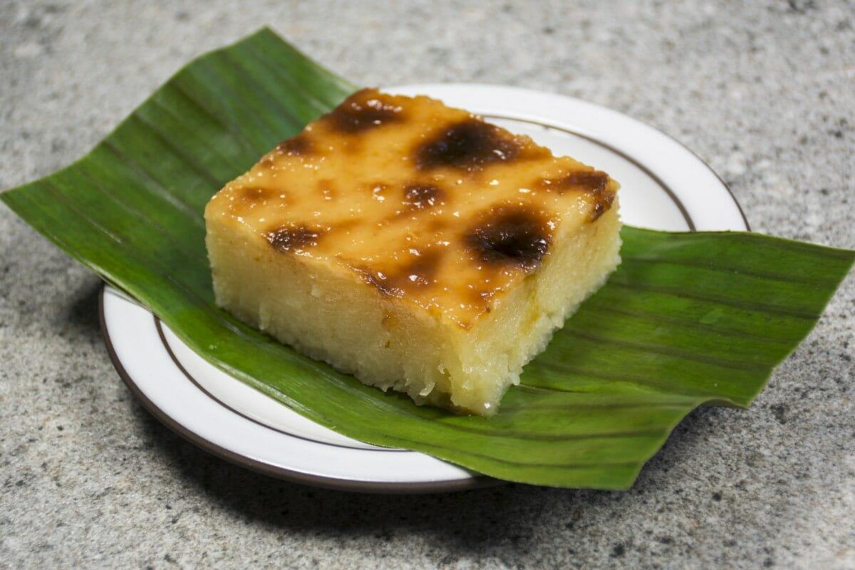 Cassava Cake Dessert