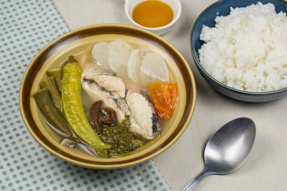Sinigang With Rice And Sauce