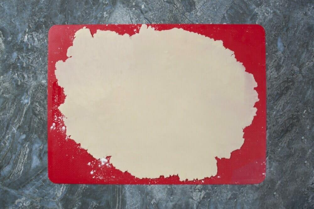 Step 4 Flatten Dough