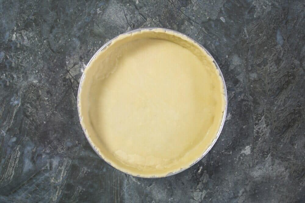 Step 5 Pie Dough In Tin