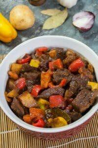 Filipino Beef Mechado Full Recipe