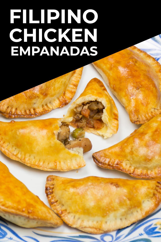Filipino Baked Chicken Empanada Recipe