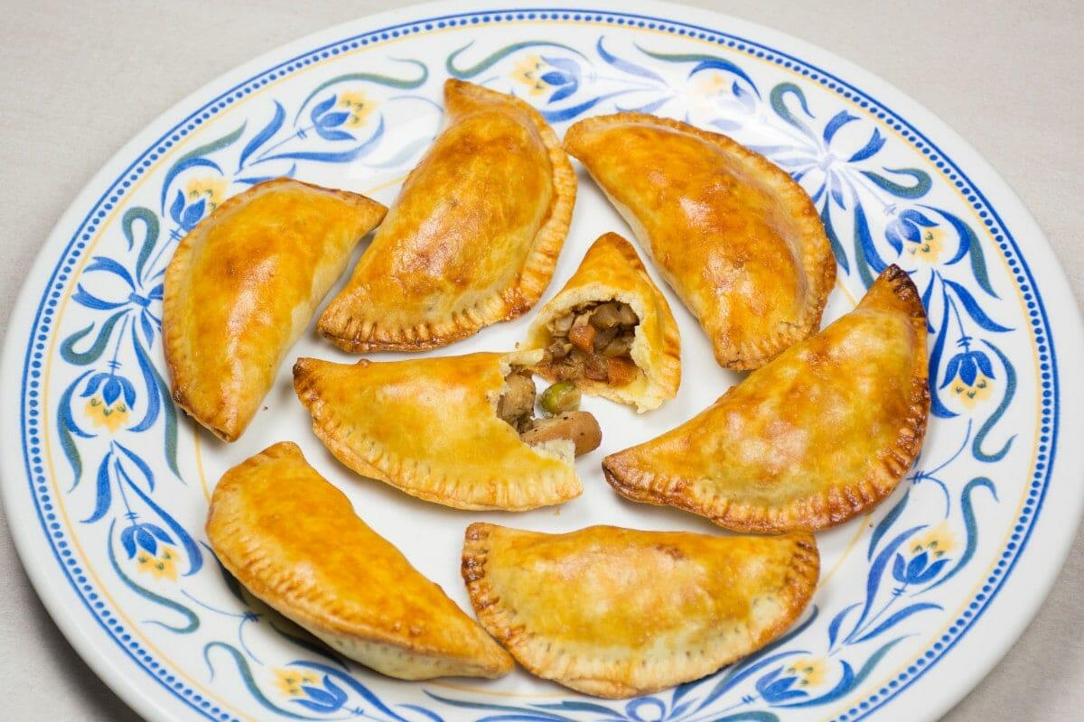 Filipino Empanadas On Plate