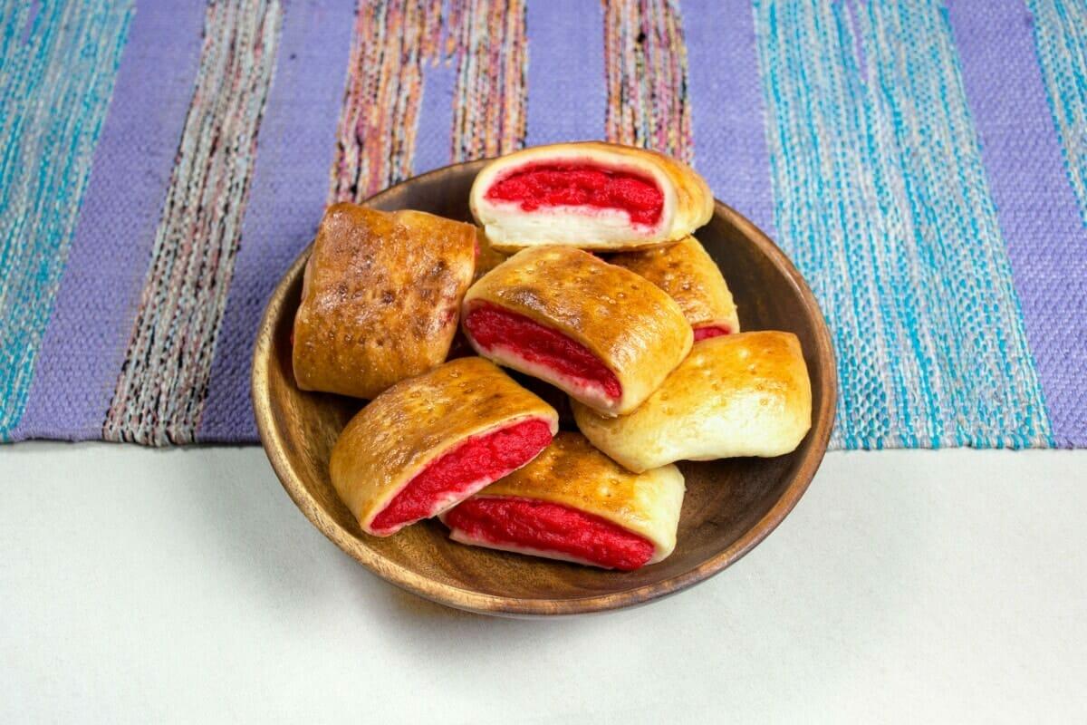 Filipino Kalihim Bread Dessert Or Breakfast Snack