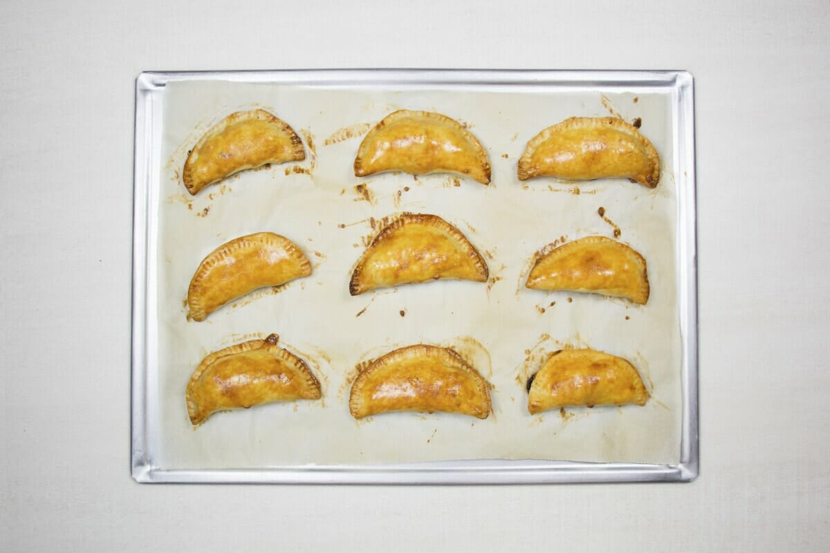 Step 18 Baked Pastries In Oven
