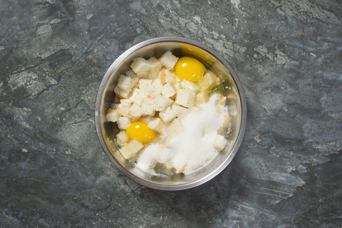 Step 2 Add Milk Eggs Sugar To Bold